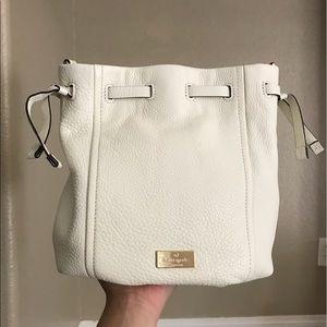 KATE SPADE *NEW* Highland white bucket purse